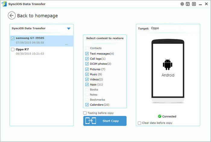 Transfer Photos from iPod or iPhone to Computer Freely