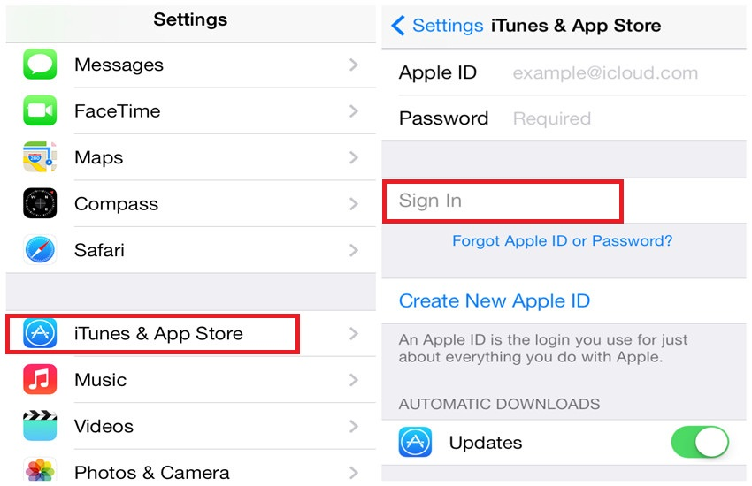 how to make app store account